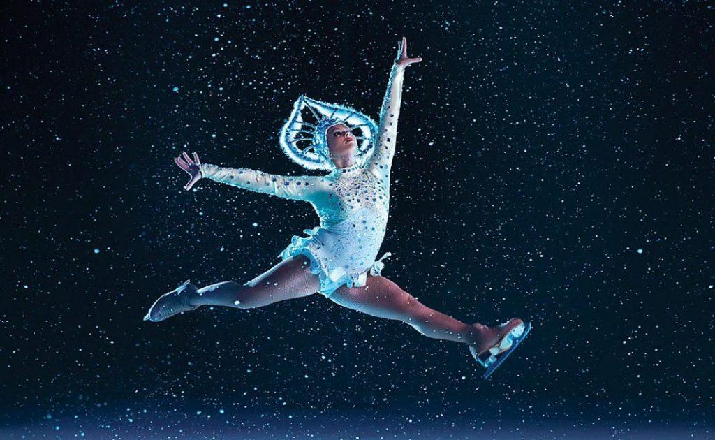 Espectáculo patinaje sobre hielo, Adventure of the Seas.