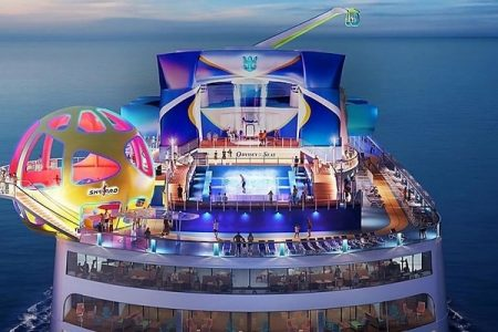 El nuevo barco Odyssey of the Seas de Royal Caribbean