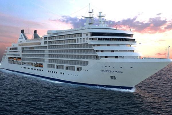Barco de Silversea