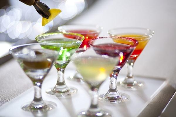 Bebidas crucero Celebrity